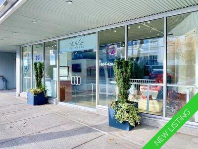 Vancouver Commercial Property for sale:  1 bedroom  (Listed 2020-12-02)